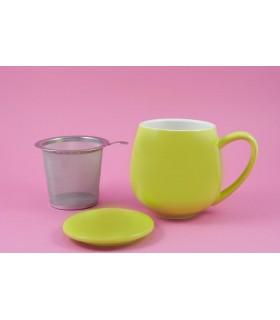 """Taza con filtro y tapa """"Zaara"""" 0,35 L verde"""