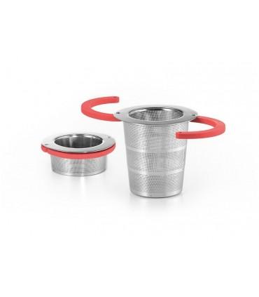 Filtro plegable para el té de acero Ø 5 cm