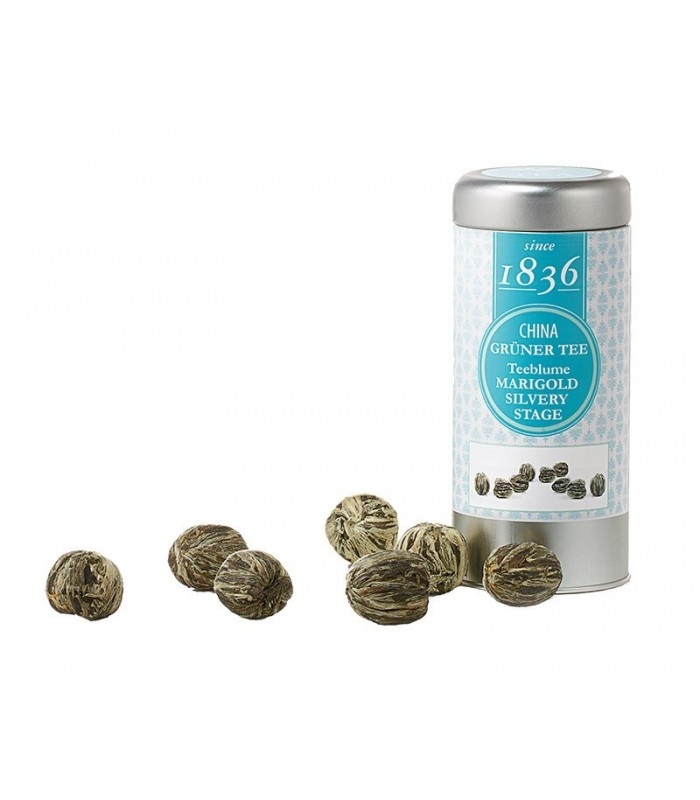 Flor de té con caléndula