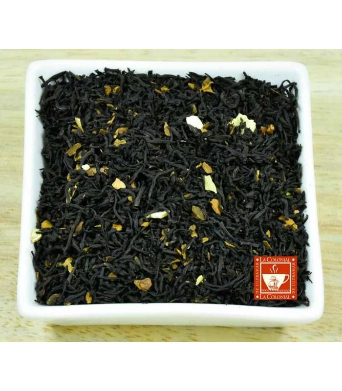 Té negro Almendras y canela (té de navidad)