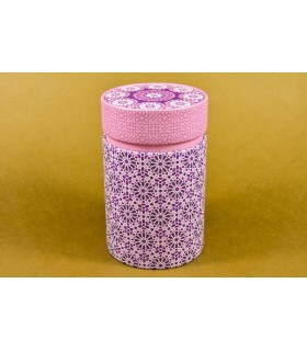 "Lata de té 100 g ""Mosaico"" rosa"