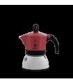 Cafetera Bialetti Moka inducción 6 Tazas roja