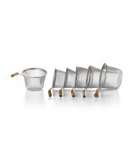 Filtro para el té de acero Ø 6.0 cm