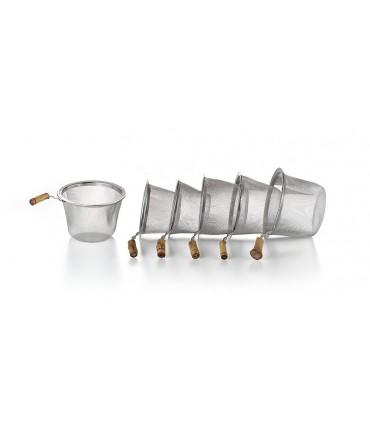 Filtro para el té de acero Ø 6.4 cm