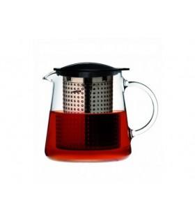 Tetera de cristal Tea Control 0,8L Finum