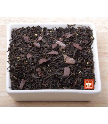 Té negro con chocolate