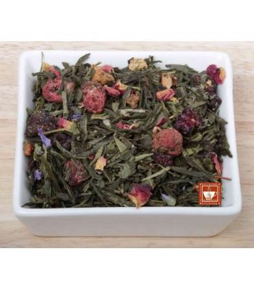 Té verde Yogur de fresas y moras