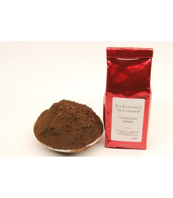 Cacao puro 100% - bolsa de 100 g