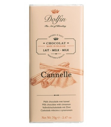 Chocolate Dolphin con canela de Ceylán - 70g