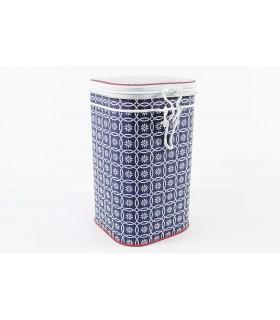 Lata de té o café de 250 g azul