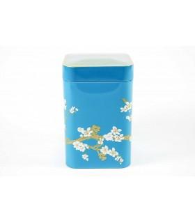 Lata de té 100 g Sakura - AZUL
